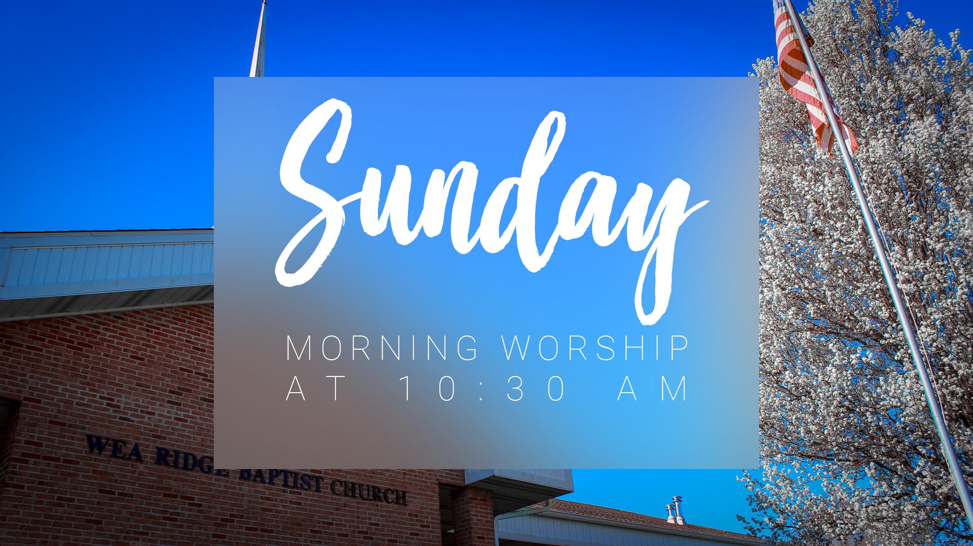 sundaymorningworship